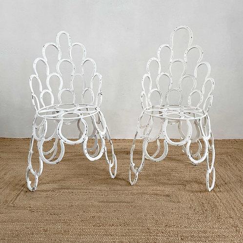Handmade Horseshoe Chairs England