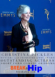 Christina Pickles wins the Emmy!