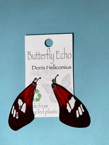 Butterfly  Earrings - Doris Heliconius Style