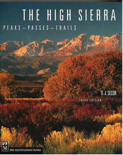 The High Sierra, Peaks, Passes
