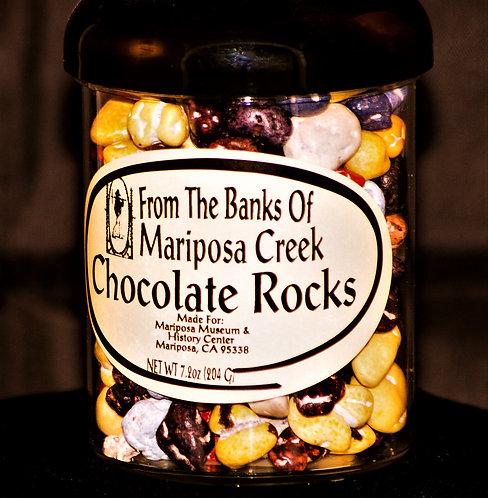 Chocolate Rock Candy