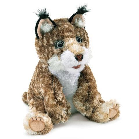 Bobcat Kitten Hand Puppet