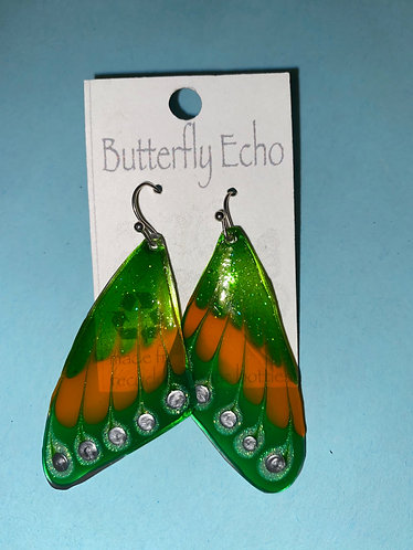 "Butterfly  Earrings - ""Fantasy 3"" Style"