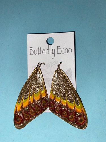 """Butterfly  Earrings - """"Fantasy 1"""" Style"""