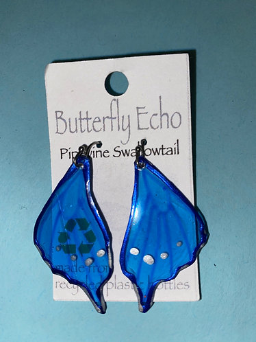 Butterfly  Earrings - Pipevine Swallowtail Style