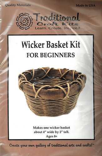 KIT - Beginner Basket Kit-Wicker