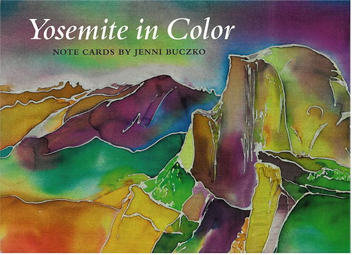 Yosemite in Color Note Cards