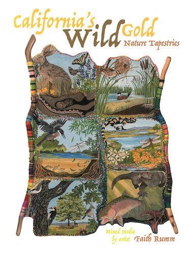California Wild Gold Nature Tapestries