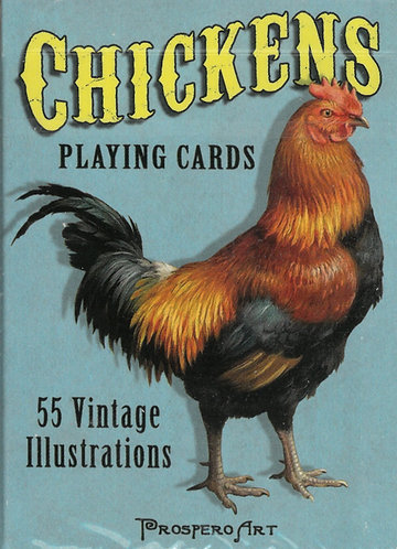 Playing Cards - Chicken