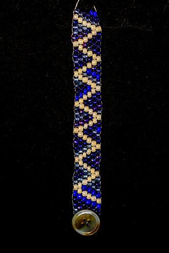 Julia Parker Bracelet Blue and White