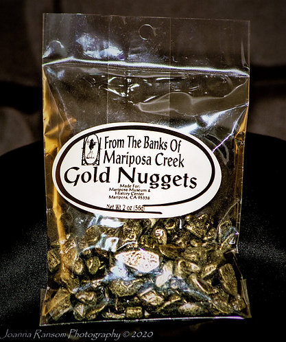 Gold Nugget Chocolate 2 oz