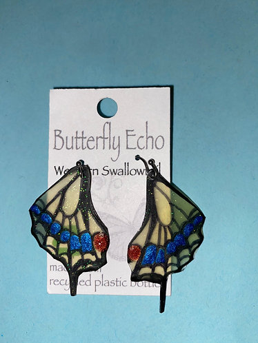 Butterfly  Earrings - Western Swallow Tail Style