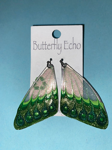 "Butterfly  Earrings - ""Fantasy 4"" Style"