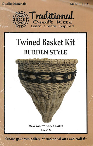 KIT - Twined Basket - Burden style