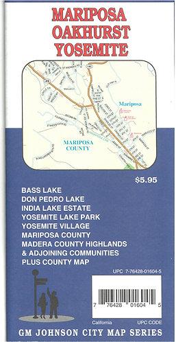 Maps - Mariposa/Oakhurst/Yosemite
