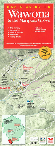 Maps - Wawona & the Mariposa Grove