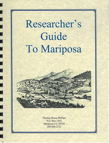 Researcher's Guide To Mariposa