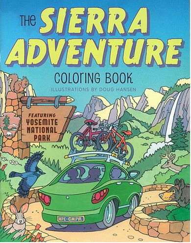Sierra Adventure Coloring Book