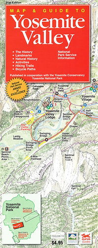 Maps - Yosemite Valley Map & Guide