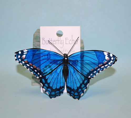 Butterfly Pin - Red Spotted Purple - Large