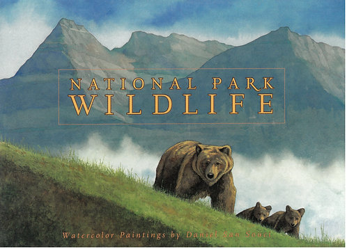 National Park Wildlife Note Cards