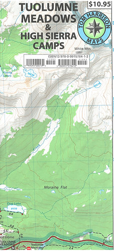 Maps - Tuolumne Meadows & High Sierra Camps