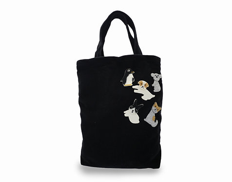 "M tote BK ""animals"""