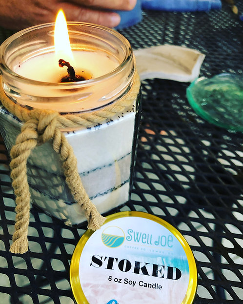 Stoked Soy Candle