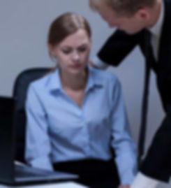 Boss harassing employee
