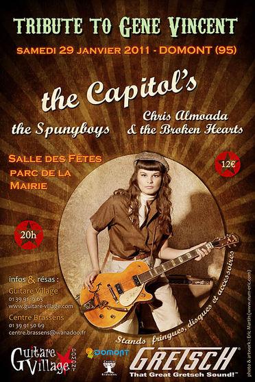 affiche concert 29 janvier 2011