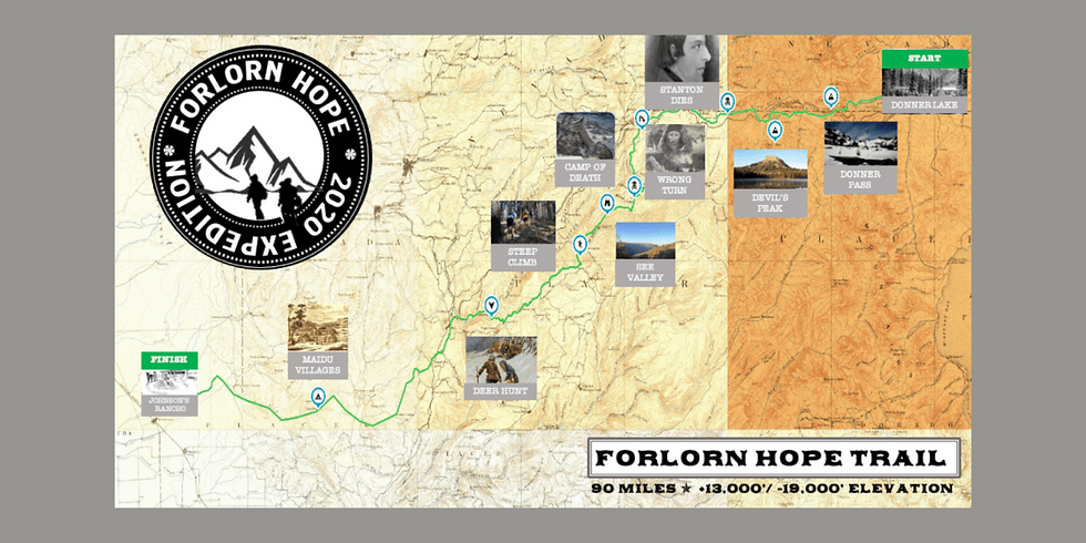 Discovering the Lost Trail of the Forlorn Hope: A Tale of American Pioneer Legends