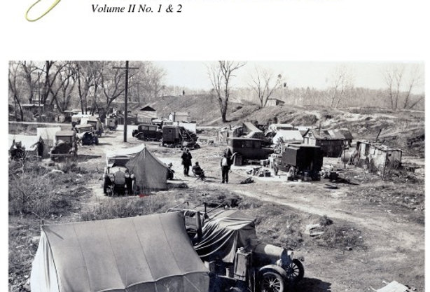 Vol.2 No.1 & 2 A History of California's Homeless  (Print Copy)