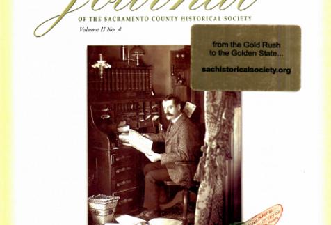Vol.2 No.4 C.K. McClatchy and the Sacramento Bee (Print Copy)