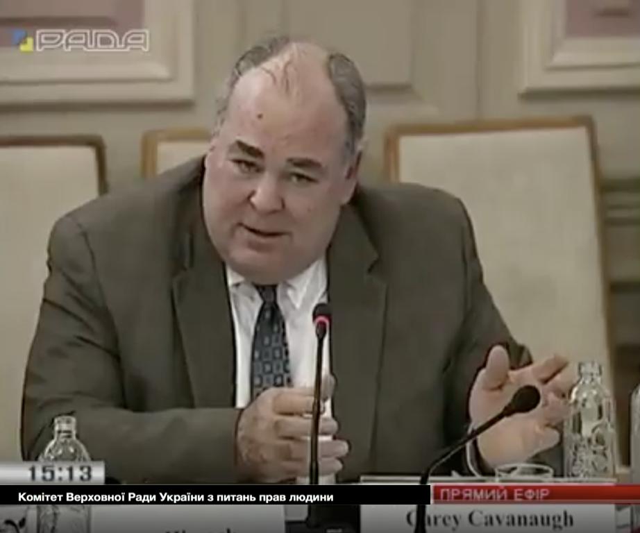 Ambassador Cavanaugh Rada Testimony