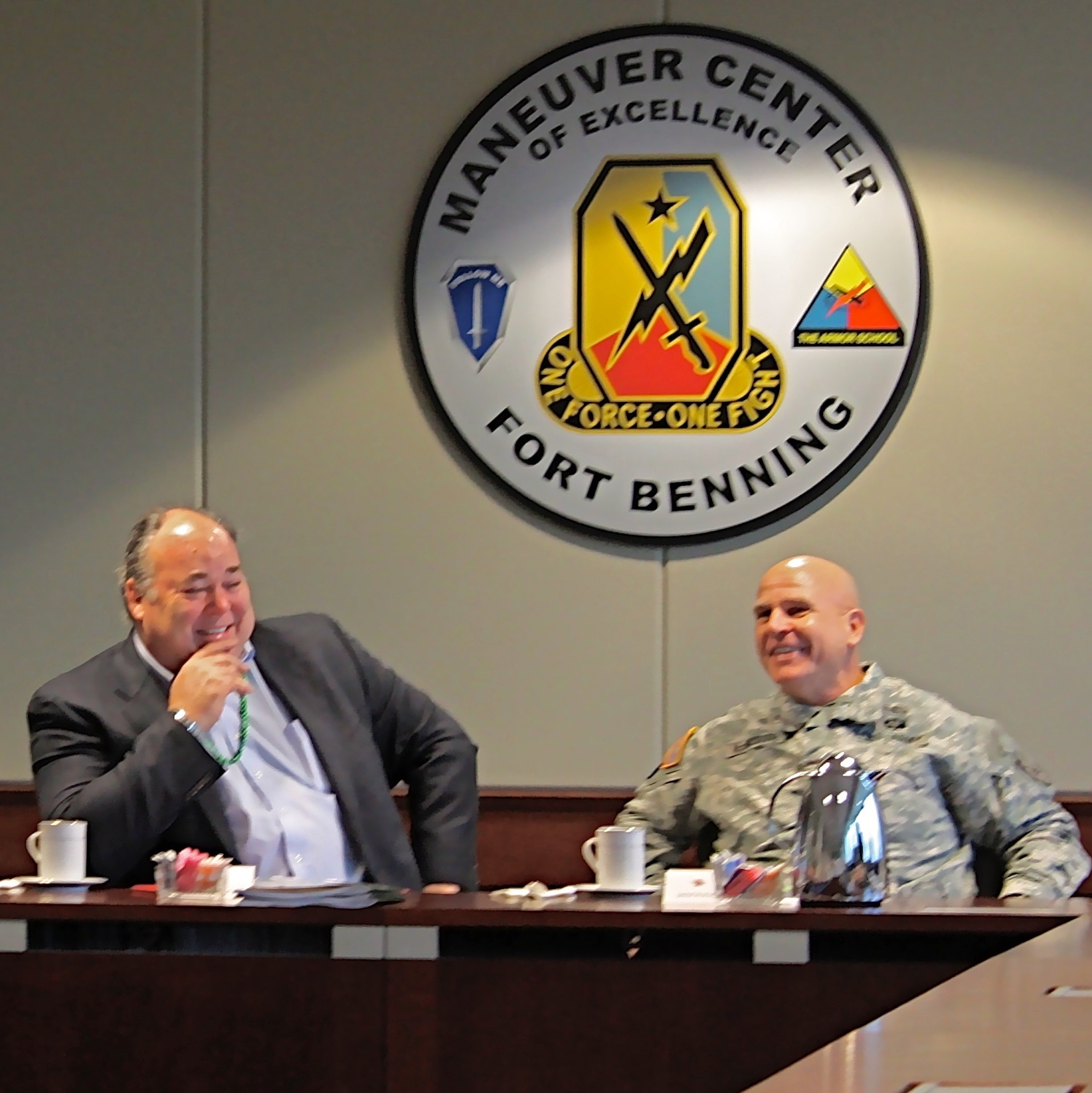 Cavanaugh & General H.R. McMaster