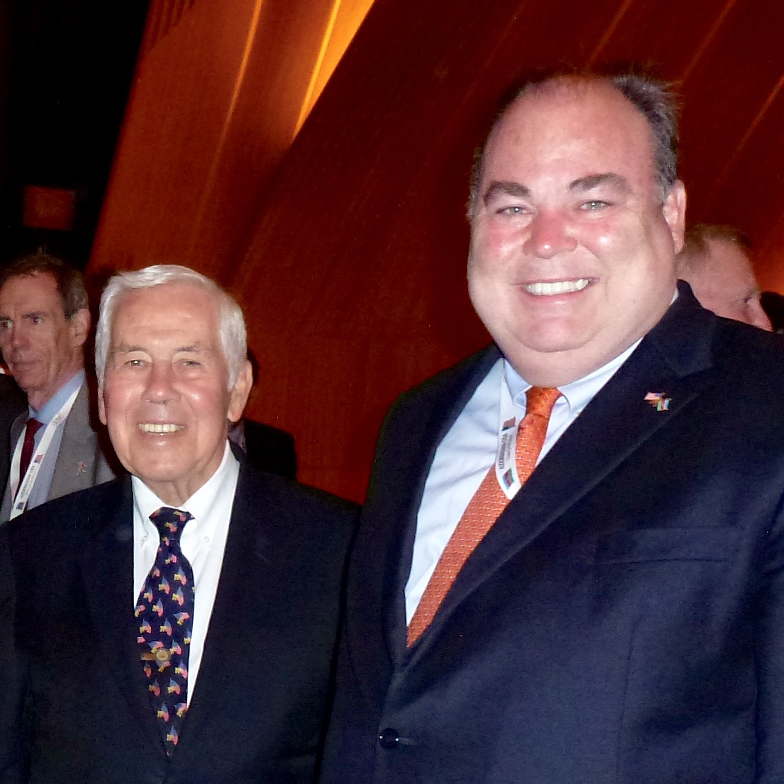 With Senator Dick Lugar