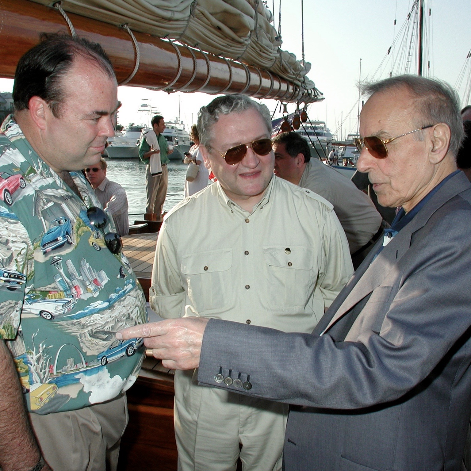 Key West Peace Talks, April 2001