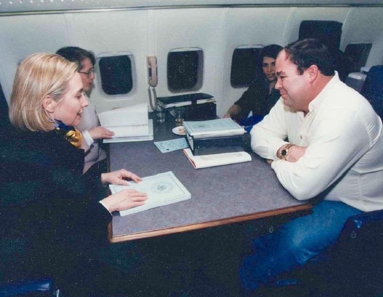 Airplane Briefing: Hillary Clinton