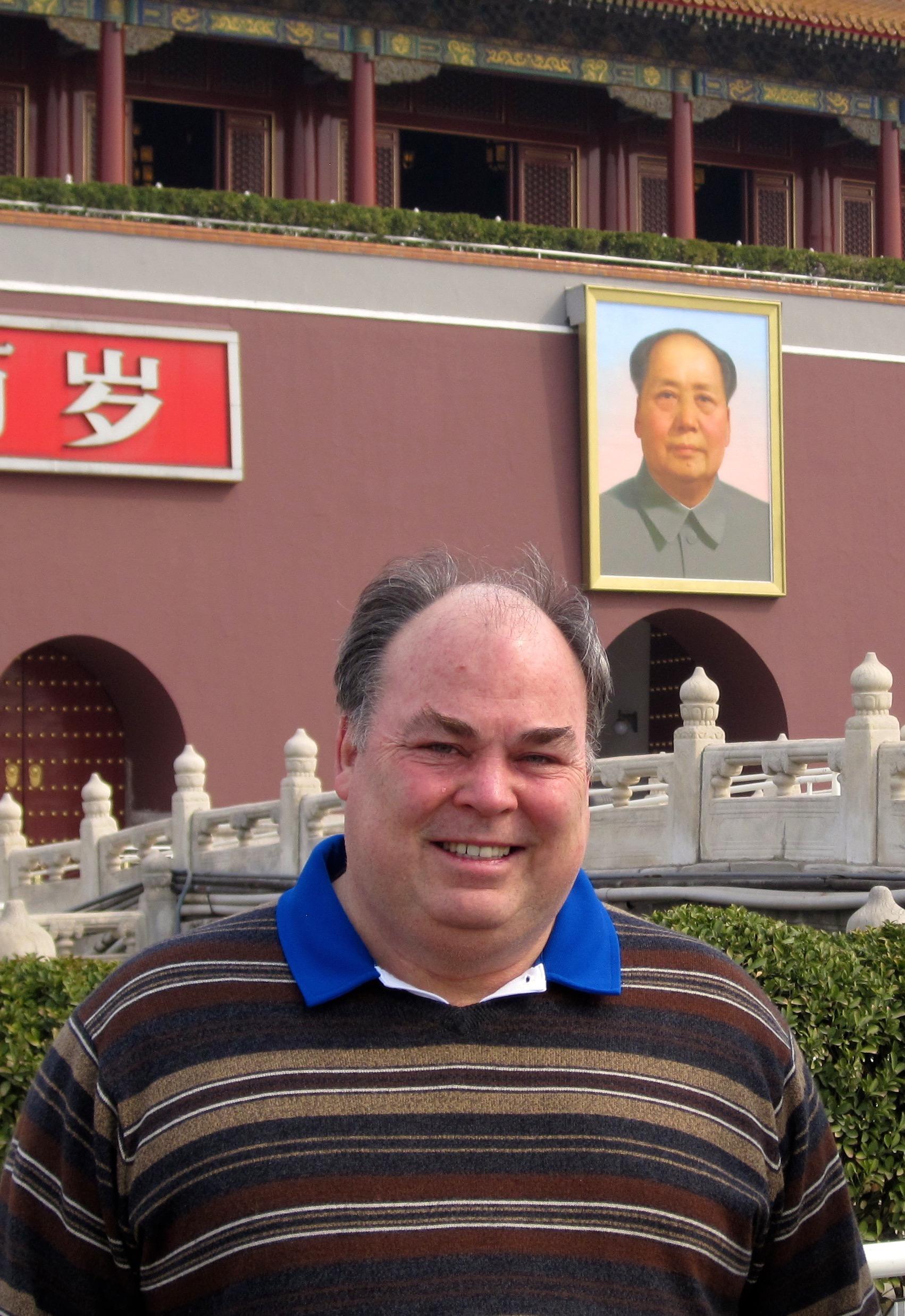 At Tiananmen Square, Beijing