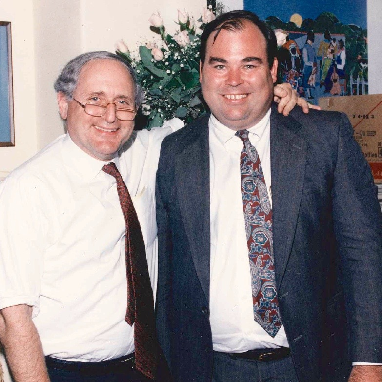 With Senator Carl Levin