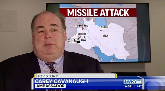 Carey Cavanaugh Iran missile attack