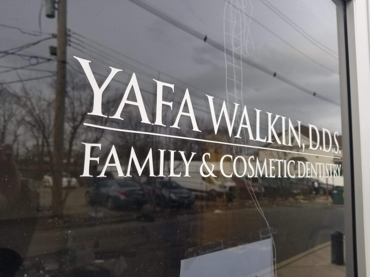 Yafa Walkin dds Yafa Walkin dds office logo