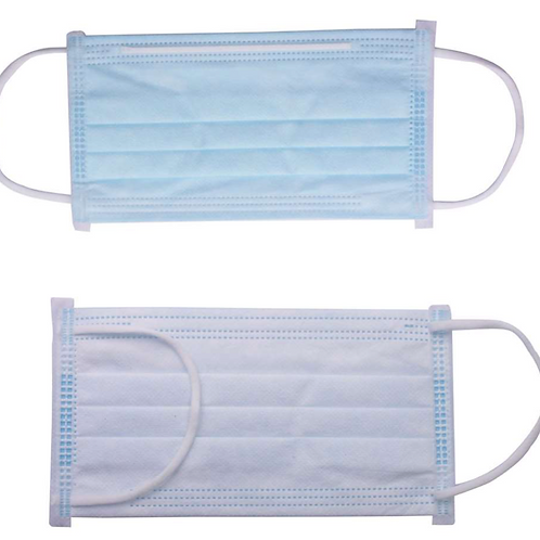 MPS 3-Ply Flat Lay Masks