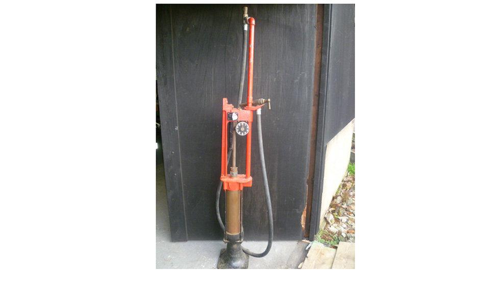 Pre War Wayne Petrol Pump
