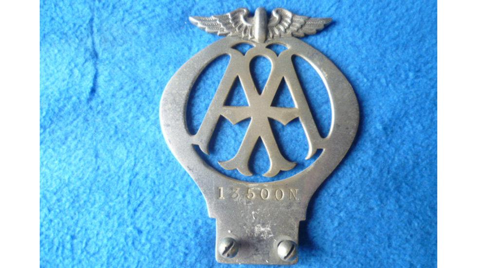 AA Skeleton Crome 1930 Number13500n