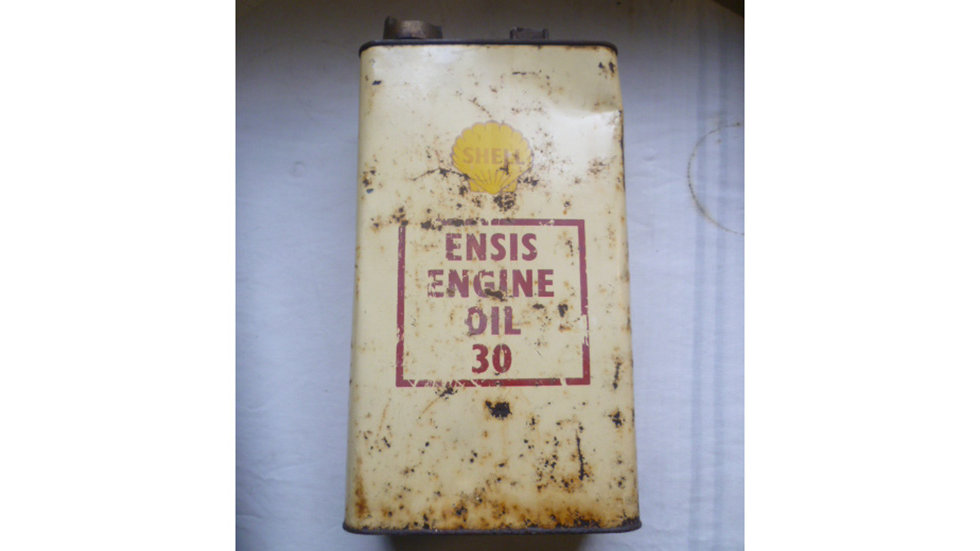Shell Ensis 1 Gallon Oil Can