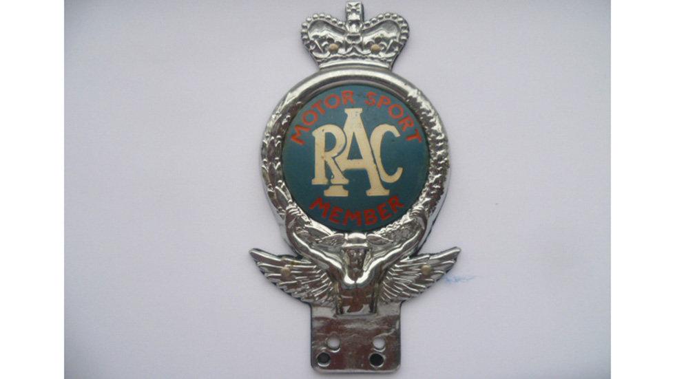 RAC Motor Sport Member Badge