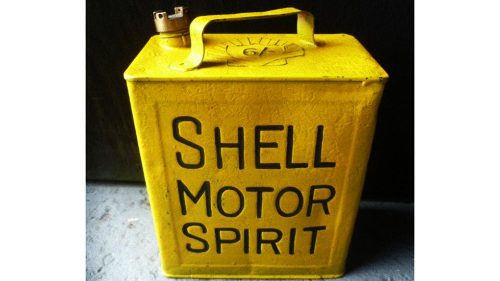 Shell Motor Spirit Yellow Finish