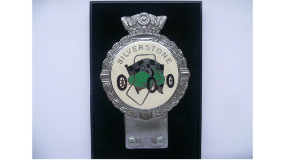 Silver Stone Circuit Badge