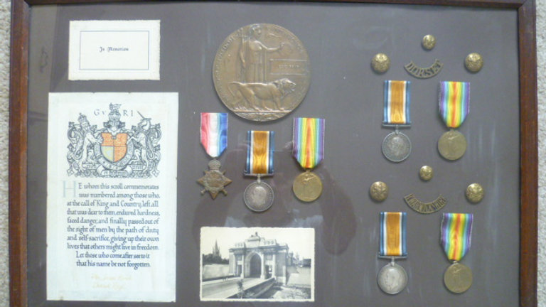 Family WW1 Medal Collection